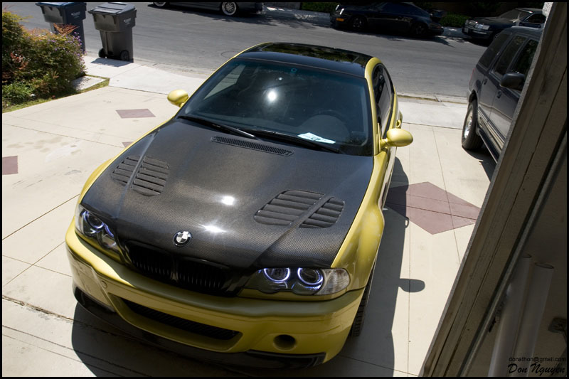 Don Nguyen E46 M3s Official Vinyl Wrapping Pictures