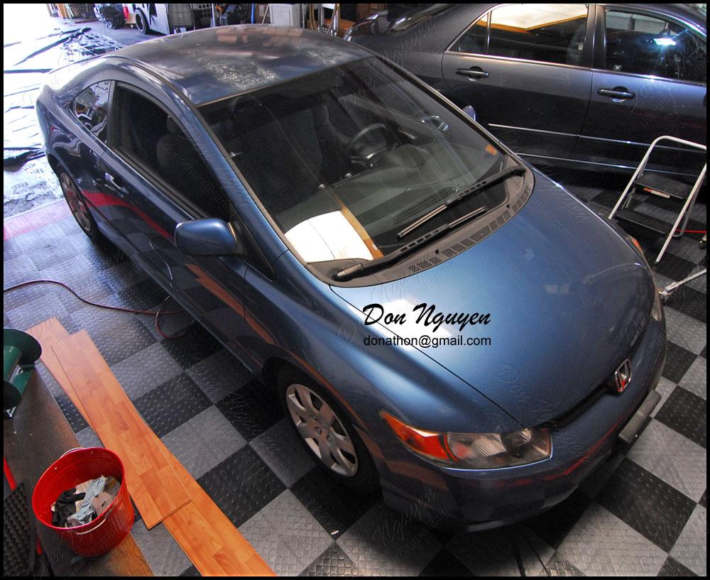 Don Nguyen Gloss Black Vinyl Roof Wrap Covered Up